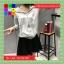 เสื้อคลุมแฟชั่น มีฮูด แขนยาว ซิปหน้า สีเทา thumbnail 3