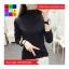 เสื้อแฟชั่น คอปีน แขนยาว สีพื้น thumbnail 11