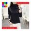 เสื้อแฟชั่น คอปีน แขนยาว สีพื้น thumbnail 12
