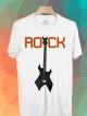 BP341 เสื้อยืด ROCK GUITAR