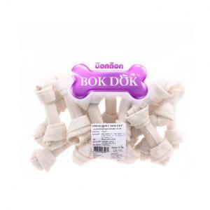 """Bokdok กระดูกผูกขาว ขนาด 4-4.5"""" 15ชิ้น 4แพ็ค"""