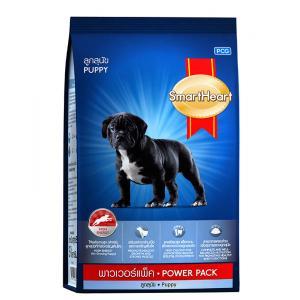 สมาร์ทฮาร์ท ลูกสุนัข พาวเวอร์แพ็ค10 กิโลกรัม ส่งฟรี