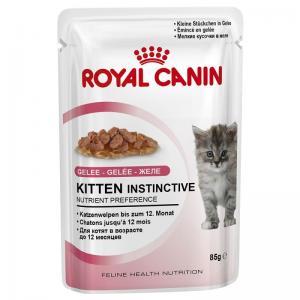 รอยัลคานิน เพาซ์ Kitten Instinctive Jelly 12ซอง