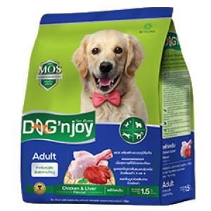 Dog'njoy สูตรสุนัขโตพันธุ์กลาง-ใหญ่ รสไก่-ตับ 20 กิโลกรัม