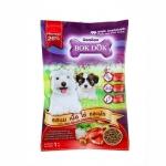 Bokdok อาหารลูกสุนัขและสุนัขพันธ์เล็ก รสนม เนื้อ ไข่ และผัก