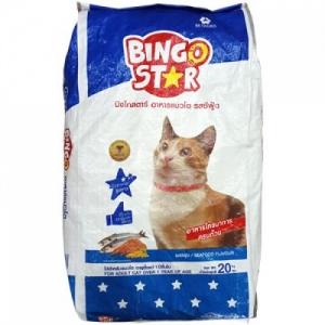 อาหารแมว บิงโกสตาร์ รสซีฟู้ด 20 กิโลกรัม