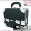 กระเป๋าเครื่องสำอางดีไซน์เมคอัพอาร์ทติสท์ สไตล์เกาหลี สีดำ Size S (W25xD15xH21cm.) Made in Korea (Pre-order)