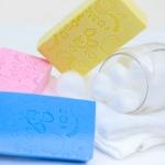 ฟองน้ำ สครับผิว de SKIN Body Scrub Sponge