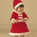 ชุดกระโปรงซานตี้ เด็กหญิง