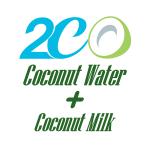 เครื่องดื่มน้ำมะพร้าวผสมน้ำนมมะพร้าว 2CO