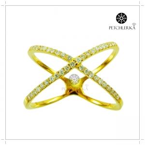 แหวนเพชรแท้ แหวนเพชรสวยๆ แหวนเพชรผู้หญิง(งานสั่งทำ)