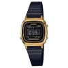นาฬิกา CASIO ดิจิตอล สีดำทอง รุ่น LA670WEGB-1B STANDARD DIGITAL ของแท้ รับประกันศูนย์ 1 ปี