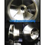 รับผลิตใบพัดปั้มน้ำทองเหลืองOD 360MM ร่องน้ำ 50 มิล รูเพลาเตเปอร์37×43มิล แวริ่งบน 220 มิล หนารวม160 มิล ขายส่งและปลีก