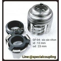 จำหน่ายMechanical seal GF-04mat:sic sic viton id 12mm od 23 mm พร้อมส่งจ้า ขายส่งและปลีก