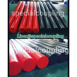 จำหน่ายแท่งยูรีเทนสีแดงและสีดำ ขนาด od 40mm xL 500mm ความแข็ง 90shore Aพร้อมส่งคะ ขายส่งและปลีก