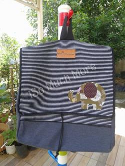 กระเป๋าเป้ ผ้าแคนวาส i006