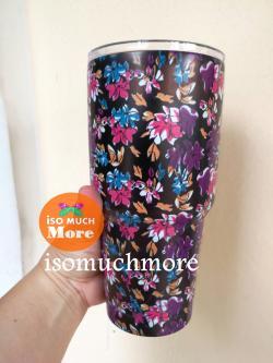 แก้วYETI แก้วเก็บความเย็น แก้วเยติ ชุดดอกไม้ 30 oz พร้อมส่ง