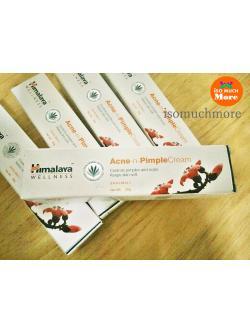 Himalaya Herbals Acne-n-Pimple Cream 20 g ครีมแต้มสิว สิวอักเสบ สิวผด ลดรอยแผลเป็น