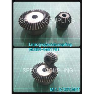 จำหน่าย-นำเข้า-รับผลิต เฟืองดอกจอก1:2 / S45Cชุบแข็งปลายฟัน m.1.5/20T/40T พร้อมส่งคะ