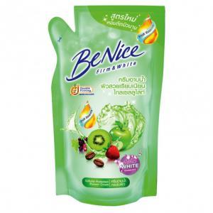 บีไนซ์ครีมอาบน้ำ ถุง 400 มล. เขียว