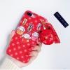 เคส iPhone แมวนำโชค สีแดง