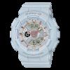 นาฬิกา Casio Baby-G Girl's Generation Gold Attractive Accent series รุ่น BA-110GA-8A (สีเทาควันบุหรี่/เทาอมฟ้า) ของแท้ รับประกันศูนย์ 1 ปี