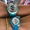 นาฬิกา Casio G-SHOCK x BABY-G คู่เหล็กSteel เซ็ตคู่รัก G-STEEL x G-MS series รุ่น GST-410-2A x MSG-400-2A Pair set ของแท้ รับประกันศูนย์ 1 ปี