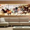 ภาพแต่งบ้านชุด ภาพ8ม้าขุนพล ส่งเสริมให้การงานก้าวหน้า ArtHome203