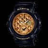 นาฬิกา Casio Baby-G BGA-195M Metal Dial series รุ่น BGA-195M-1A ดำ-ทอง ของแท้ รับประกันศูนย์ 1 ปี