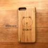 เคสไม้แท้ iPhone 7/8 plus สลักเลเซอร์