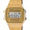นาฬิกา CASIO ดิจิตอล สีทอง รุ่น A168WG-9 STANDARD DIGITAL RETRO CLASSIC ของแท้ รับประกันศูนย์ 1 ปี