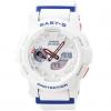 นาฬิกา Casio Baby-G White Tricolor series รุ่น BGA-185TR-7A ของแท้ รับประกันศูนย์ 1 ปี