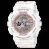 นาฬิกา Casio Baby-G BA-110CH CHANCE series รุ่น BA-110CH-7A (สีขาวสายลายริบบิ้น) ของแท้ รับประกันศูนย์ 1 ปี