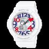 นาฬิกา Casio Baby-G White Tricolor series รุ่น BGA-130TR-7B ของแท้ รับประกัน1ปี