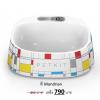 ถาดให้อาหารสัตว์เลี้ยง Smart Bowl - PETKIT Fresh มีเครื่องชั่งดิจิตอลในตัว วัสดุ anti-bacteria สี Mondrain