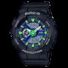 นาฬิกา Casio Baby-G Punching Pattern series รุ่น BA-110PP-1A (สายลายฉลุ) ของแท้ รับประกัน1ปี