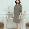 Linen Everyday dress_Brown