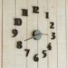 นาฬิกาติดผนัง DIY ขนาด 40 ซม CD111 สีดำ