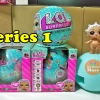 ไข่LOL ตุ๊กตาของเล่น ดูดนม ฉี่ ร้องไห้ พ่นน้ำ เปลี่ยนสี LOL Surprise Egg Series1 ลูกใหญ่ 10 ซม แพ็คเดี่ยว