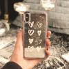 เคส iPhone ใส ลายหัวใจ