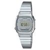 นาฬิกา CASIO ดิจิตอล สีเงินมินิ รุ่น LA670WA-7 STANDARD DIGITAL RETRO CLASSIC ของแท้ รับประกันศูนย์ 1 ปี