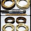 รับผลิตเฟืองเกียร์ทองเหลืองบรอนส์แข็งLBC ขนาดOD 173 MM. L 45MM. พร้อมชุบฮาร์ดโครมที่เกลียวตัวหนอน