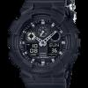 นาฬิกา CASIO G-SHOCK รุ่น GA-100BBN-1 (สายผ้า) LIMITED BLACK OUT BASIC SERIES ของแท้ รับประกัน 1 ปี