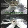 """รับซ่อมใบพัดลมแผ่นดุมเดิม ทำแฉกใบใหม่พร้อมบาลานน์ ขนาดในภาพ(od 53"""" 7ใบพัด ใบอลูมิเนียม)"""