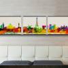 ภาพกรอบลอย เมืองสำคัญ Colorful Arthome316