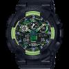 นาฬิกา คาสิโอ Casio G-Shock Limited Lime Accent Color series รุ่น GA-100LY-1A ของแท้ รับประกันศูนย์ 1 ปี (นำเข้า Japan)