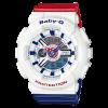 นาฬิกา Casio Baby-G White Tricolor series รุ่น BA-110TR-7A ของแท้ รับประกันศูนย์ 1 ปี