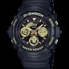 นาฬิกา Casio G-Shock Special Color BLACK&GOLD XTRA Color series รุ่น AW-591GBX-1A9 ของแท้ รับประกันศูนย์ 1 ปี