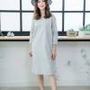 Linen Everyday Dress 👗👗_Light Gray