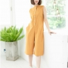 Leila Playsuit_Mustard